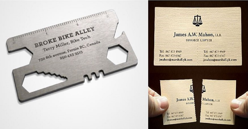 29 of the most creative business cards ever - Architect Business Card