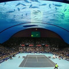 The World's First Underwater Tennis Court Is Set To Be Built In Dubai