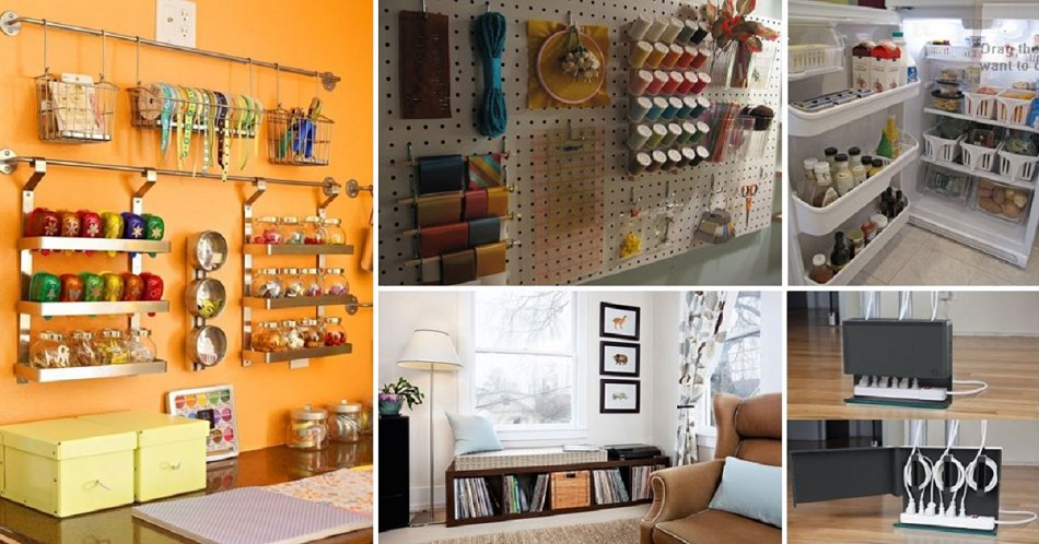 50+ Totally Feasible Ways To Organize Your Entire Home