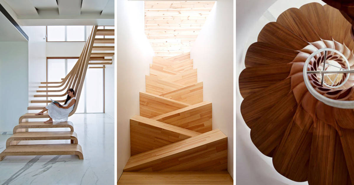 20 Beautiful Stairs That Will Make Climbing To The Second Floor Less Annoying