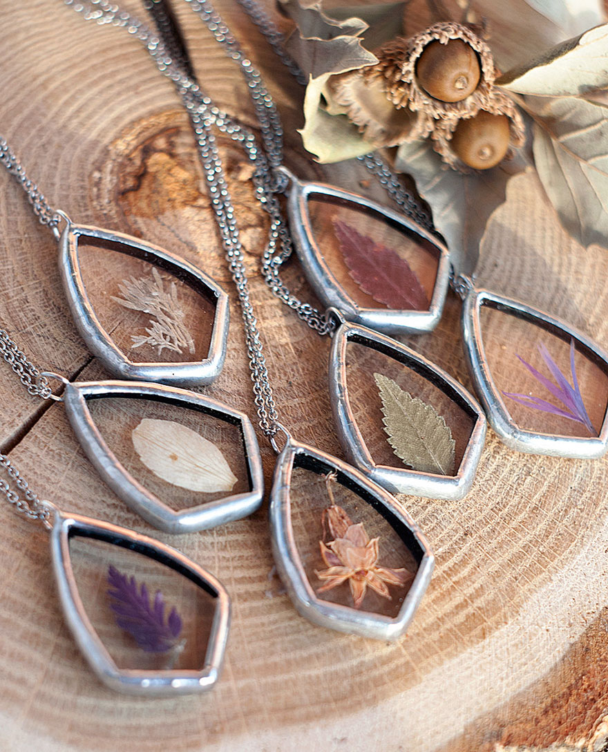 AD-Pressed-Flower-Leaf-Jewelry-Stained-Glass-Wwheart-04