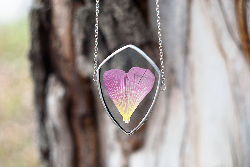AD-Pressed-Flower-Leaf-Jewelry-Stained-Glass-Wwheart-18