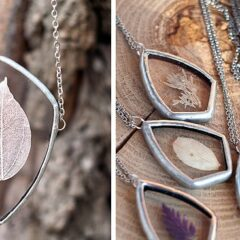 Artist Preserves The Beauty Of Nature In Pressed Glass Jewelry