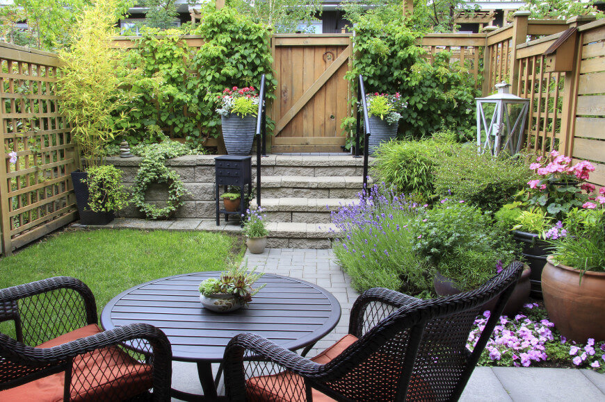 Small Garden Ideas 35 wonderful ideas how to organize a pretty small garden space