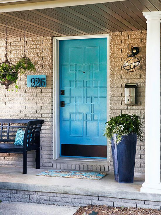 40 Front Door Flower Pots For A Good First Impression