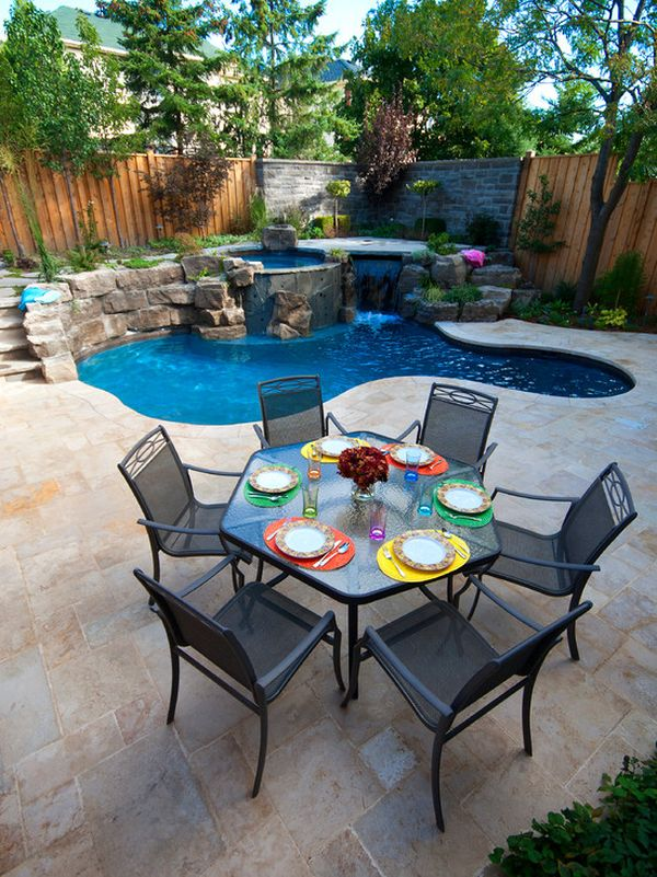 30 Ideas For Wonderful Mini Swimming Pools In Your Backyard
