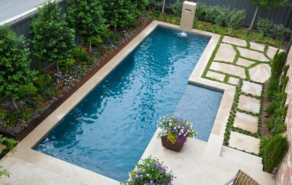 30 Ideas For Wonderful Mini Swimming Pools In Your Backyard - Mini-swimming-pool-designs