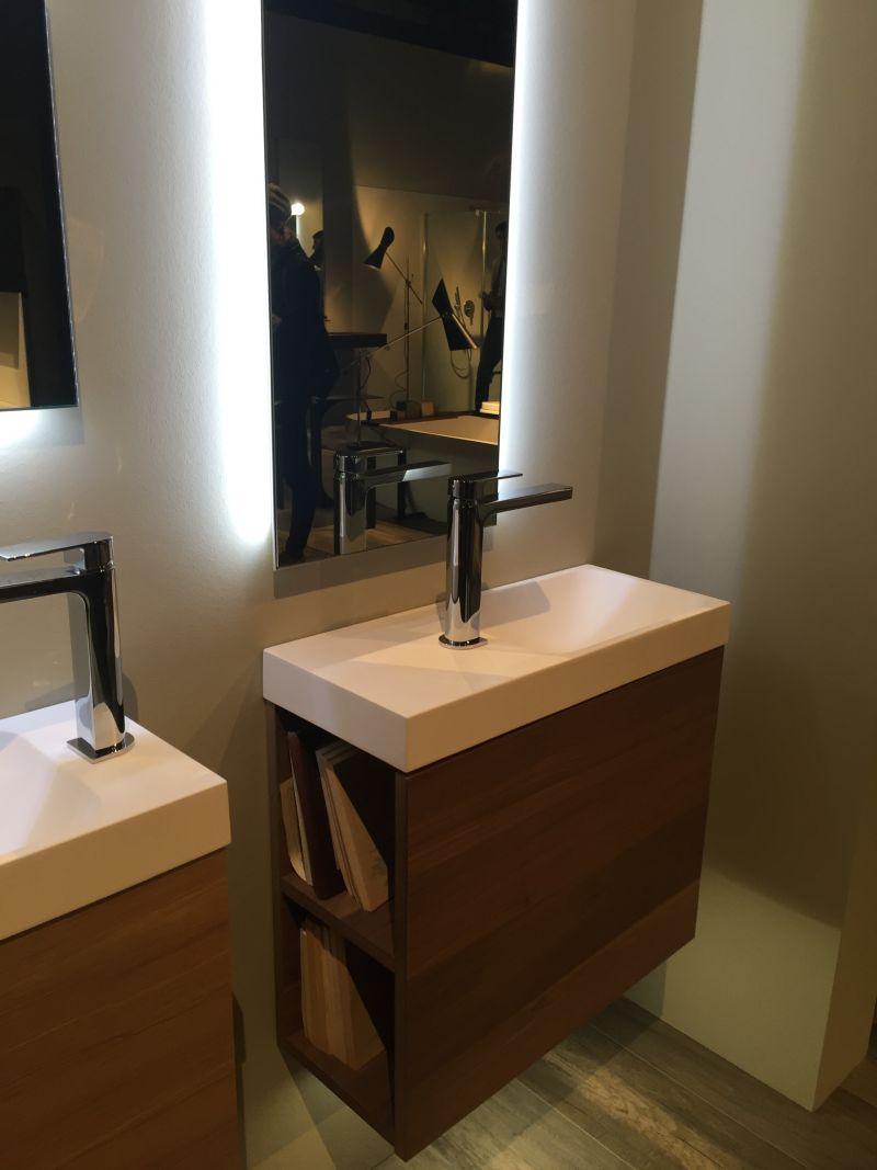 15 AD Wood Bathroom Vanity With Storage On