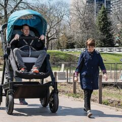 Company Invents Stroller For Grown Ups To Test Ride