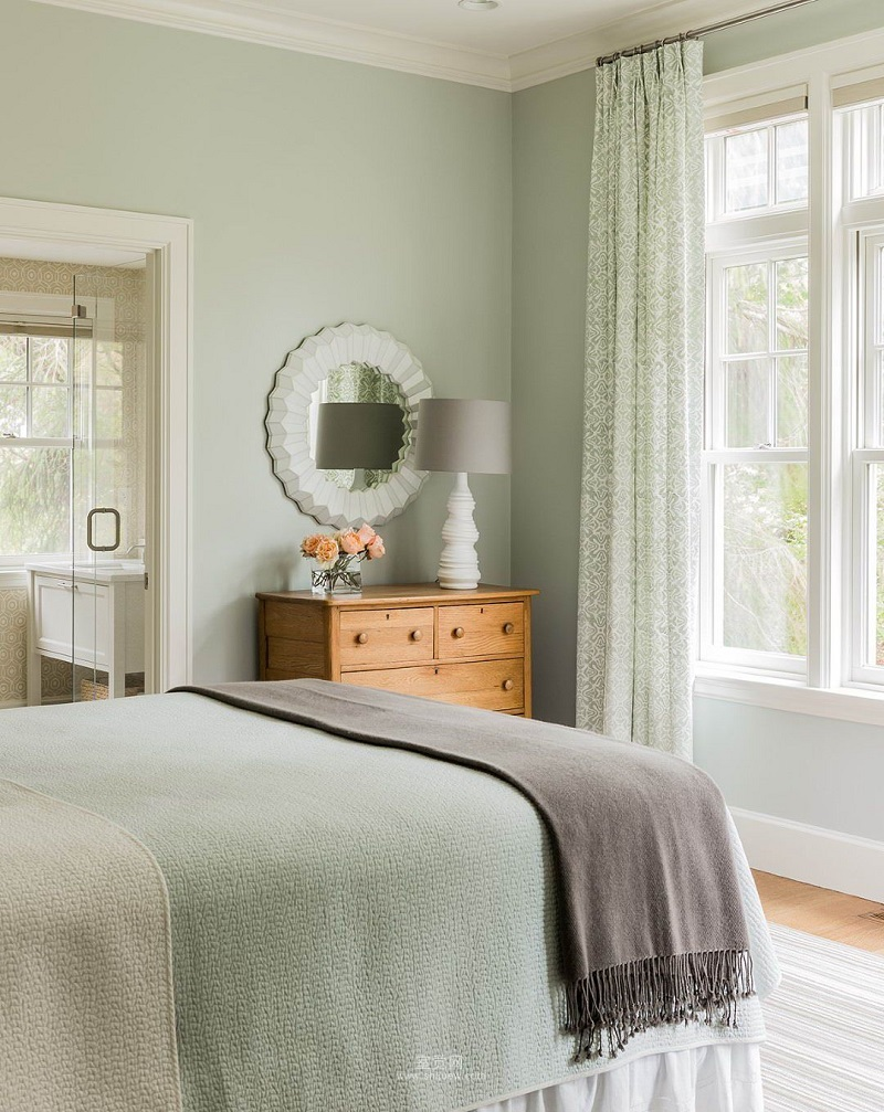 40 bedroom paint ideas to refresh your space for spring - Bedroom painting designs ...