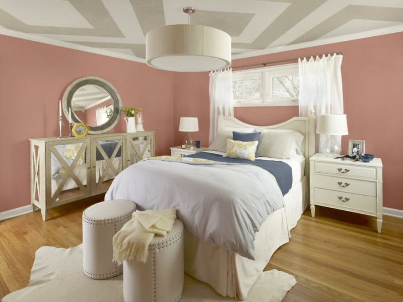 AD Blush Bedroom Wall Paint 39 ...