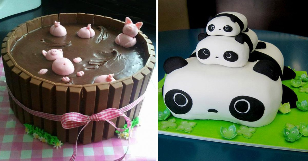 Marvelous 40 Of The Most Creative Cakes That Are Too Cool To Eat Personalised Birthday Cards Rectzonderlifede