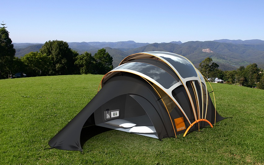 AD-Orange-Solar-Tent-01 & This Tent Will Totally Change Your Thinking About Camping Just ...