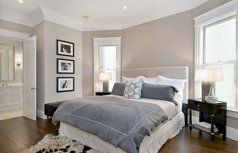 AD Taupe Bedroom Color 18