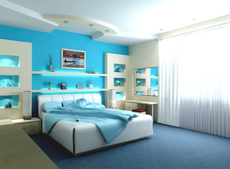 turquoise bedrooms. AD Turquoise Bedroom Design 35  40 Paint Ideas To Refresh Your Space for Spring