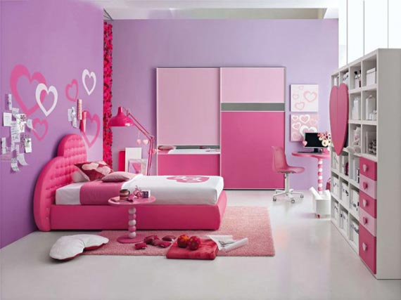 30 Dream Interior Design Ideas for Teenage Girls Rooms