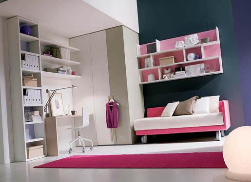 30 Dream Interior Design Ideas for Teenage Girl\'s Rooms