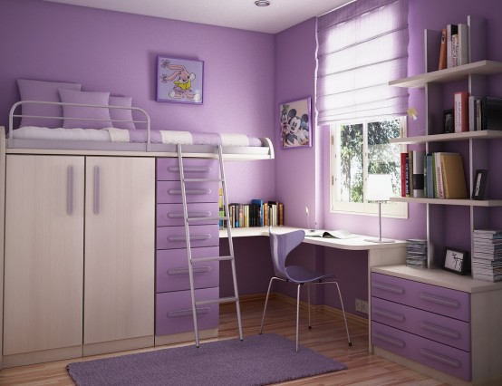 30 Dream Interior Design Ideas for Teenage Girl\'s Rooms