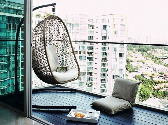50 cozy balcony decorating ideas - Home decor ideas for small homes ...
