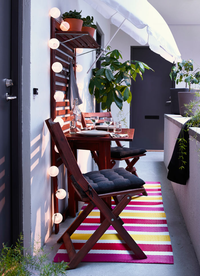 50 cozy balcony decorating ideas for Balcony makeover