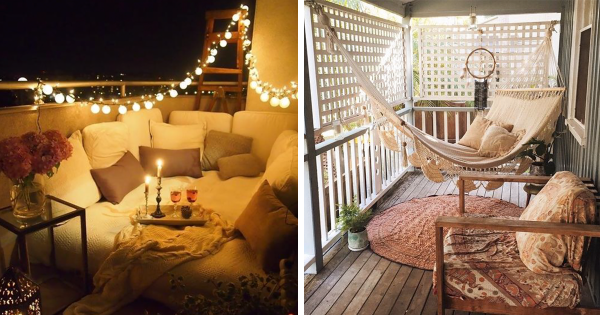 50 cozy balcony decorating ideas for Tiny balcony ideas