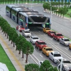 Remember China's Elevated Bus That Drives Over Traffic? Well, They've Actually Built It