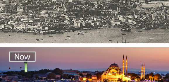 30+ Before-And-After Pics Showing How Famous Cities Changed Over Time