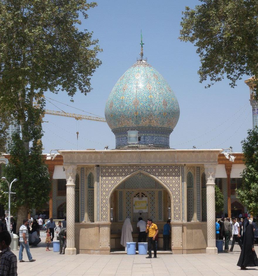 AD-Emerald-Tomb-Ceiling-Shah-Cheragh-Shiraz-Iran-01