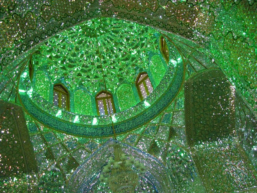 AD-Emerald-Tomb-Ceiling-Shah-Cheragh-Shiraz-Iran-03