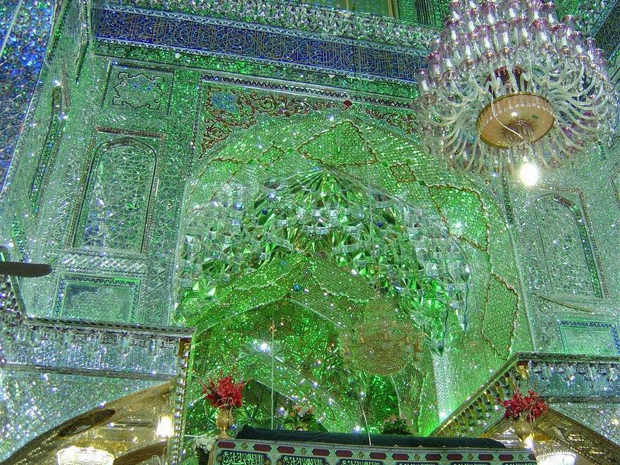 AD-Emerald-Tomb-Ceiling-Shah-Cheragh-Shiraz-Iran-04