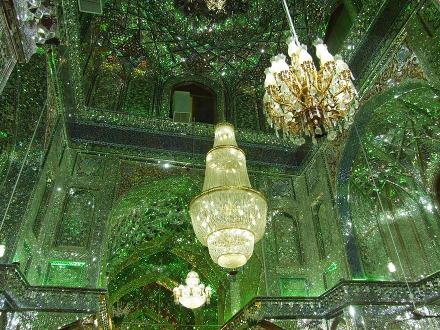 AD-Emerald-Tomb-Ceiling-Shah-Cheragh-Shiraz-Iran-05
