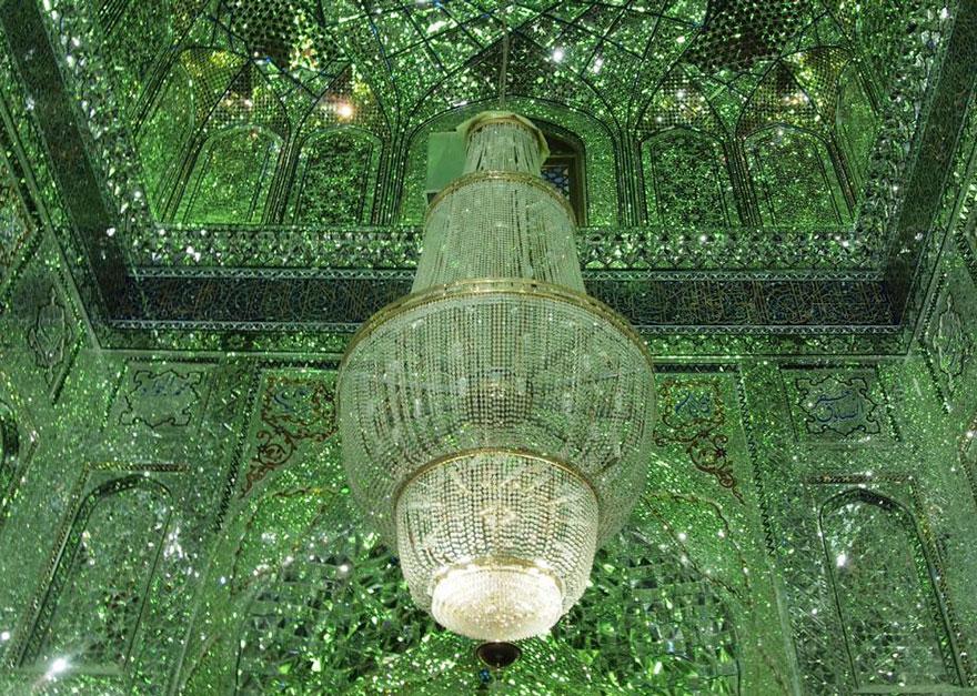 AD-Emerald-Tomb-Ceiling-Shah-Cheragh-Shiraz-Iran-08