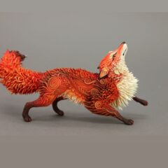 Russian Artist Creates Fantasy Animal Sculptures From Velvet Clay (50+ Pics)
