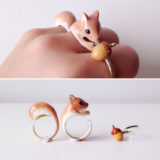 3-Piece Rings That Become Animals When You Wear Them All At Once