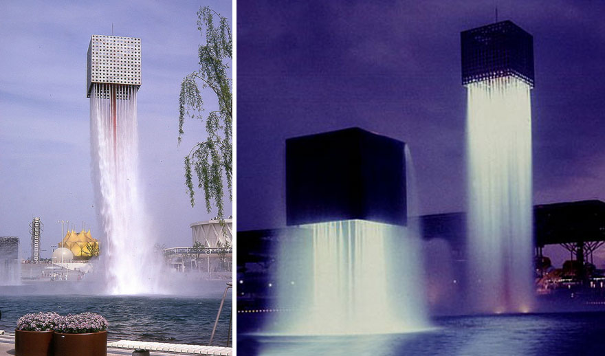 Unique Water Fountain In Japan 10