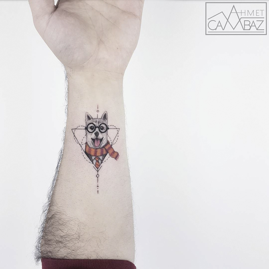 c62bf2fb8 40+ Simple Yet Striking Tattoos By Former Turkish Cartoonist That ...