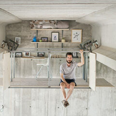 Spanish Designer Builds A Secret Studio Beneath A Busy Bridge In Valencia