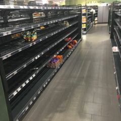 Shoppers Shocked By Empty Shelves As Supermarket Removes Foreign Items To Make A Powerful Statement