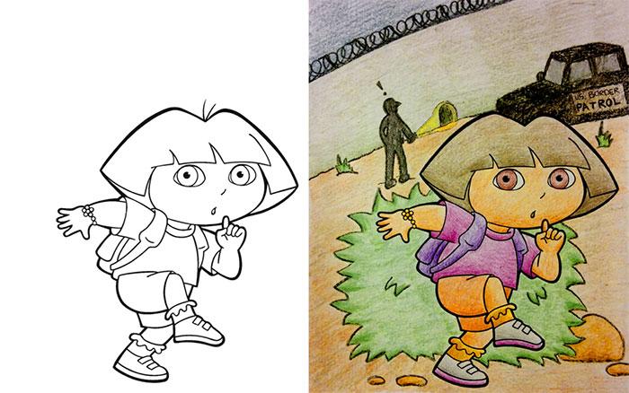 image source wwwredditcom - Childrens Coloring Books