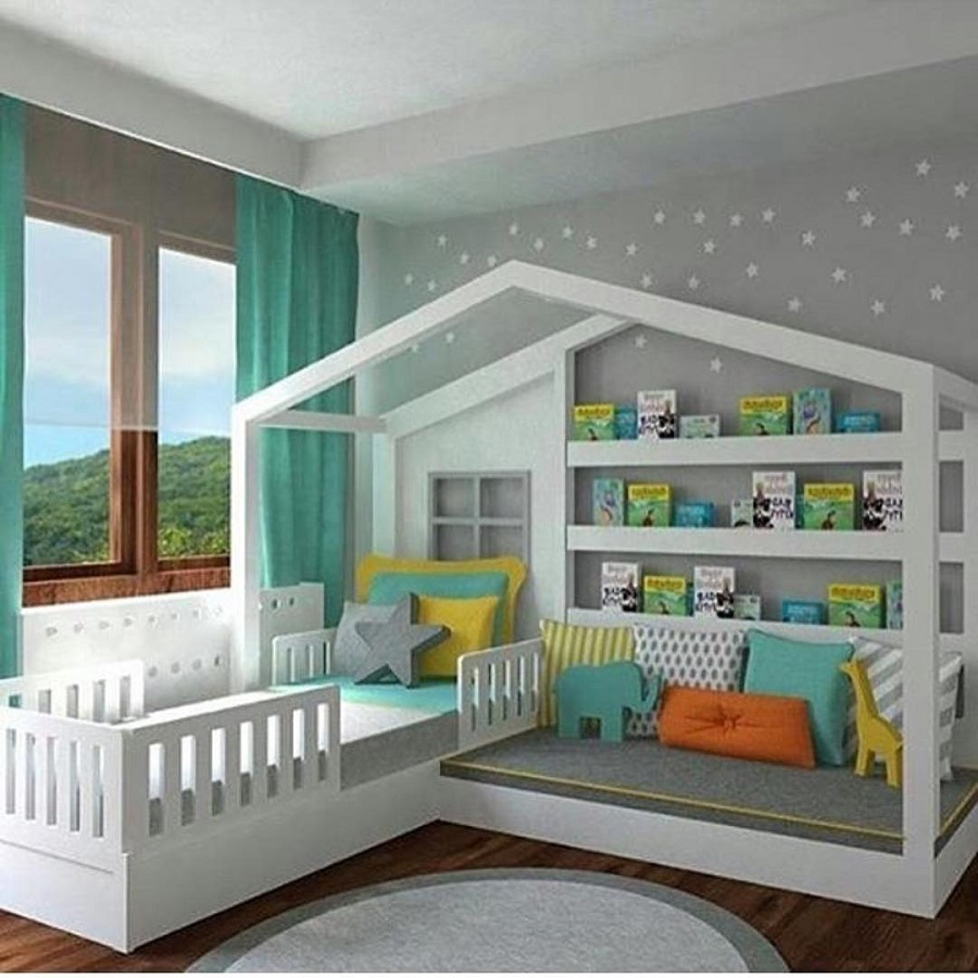 20 Amazing Kids Bedroom Design & Ideas