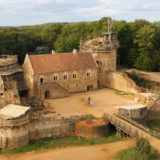 For 20 Years The French Have Been Building A Medieval Castle Using Medieval Techniques, And The Result Is Incredible