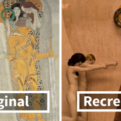 Gustav Klimt's Paintings Get Recreated With Real-Life Models, And The Result Is Amazing