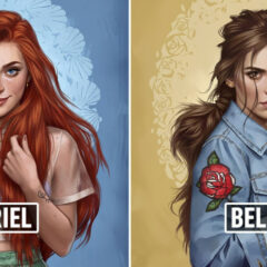 Disney Princesses As Modern Day Girls Living In 2017