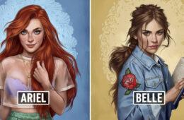 Disney Princesses As Modern Day Girls Living In 2017