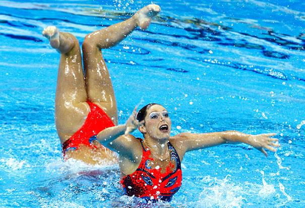 timed photos girl perfectly gymnastics