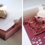 These Memo Pads Reveal Architectural Sites As Each Sheet is Removed