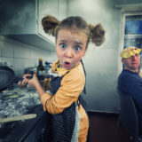 I Create Crazy Photo Manipulations With My Three Daughters And Son, And Here's What We Made So Far