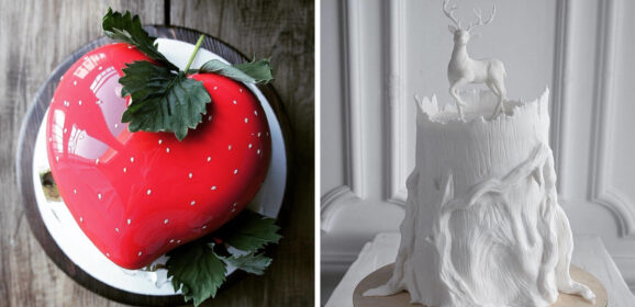 40+ Stunning Cakes By Russian Chef That Will Blow You Away