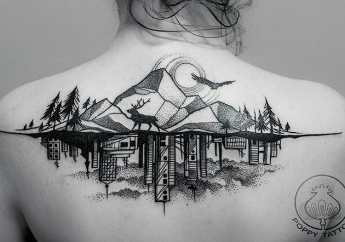 20 Architecture Tattoos That Ll Make You Want To Get Inked