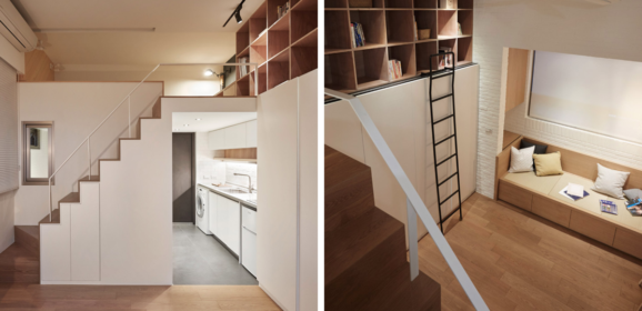 People Can't Believe This Apartment Is Only 22 Square Meters (236 Sq. ft) After Seeing These Pics